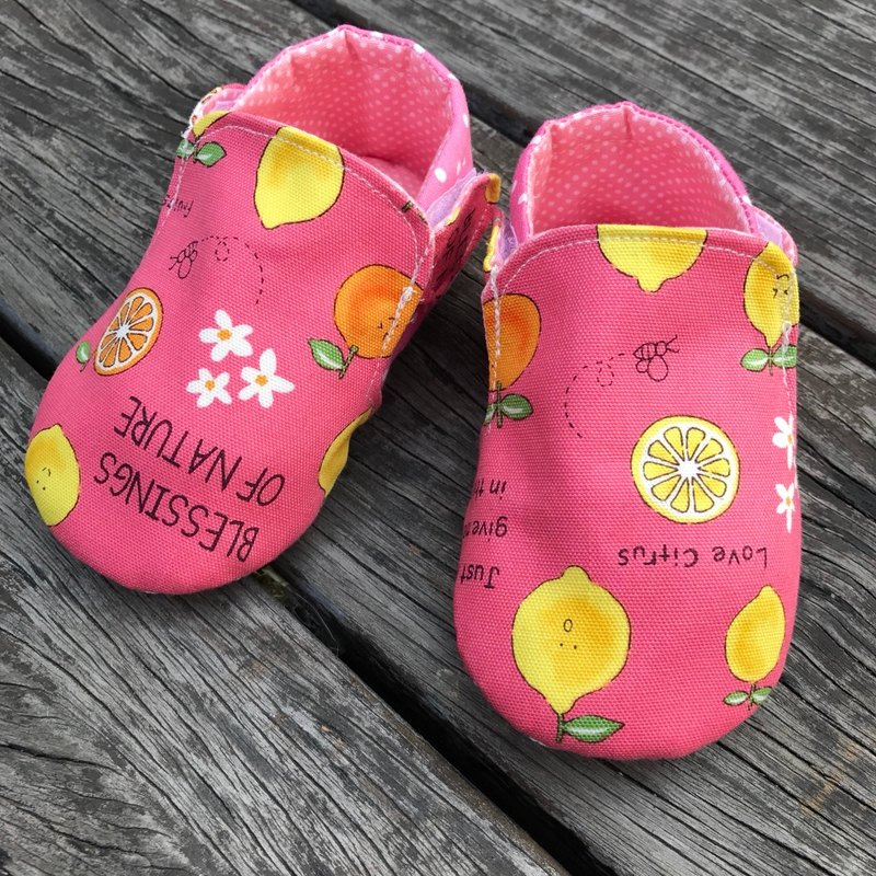 Little Lemon Walking Shoes <Powder>