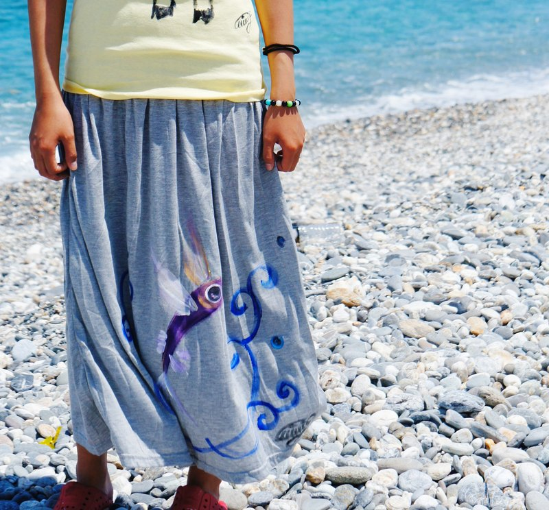 Pat wings painted skirt flying fish Winwing
