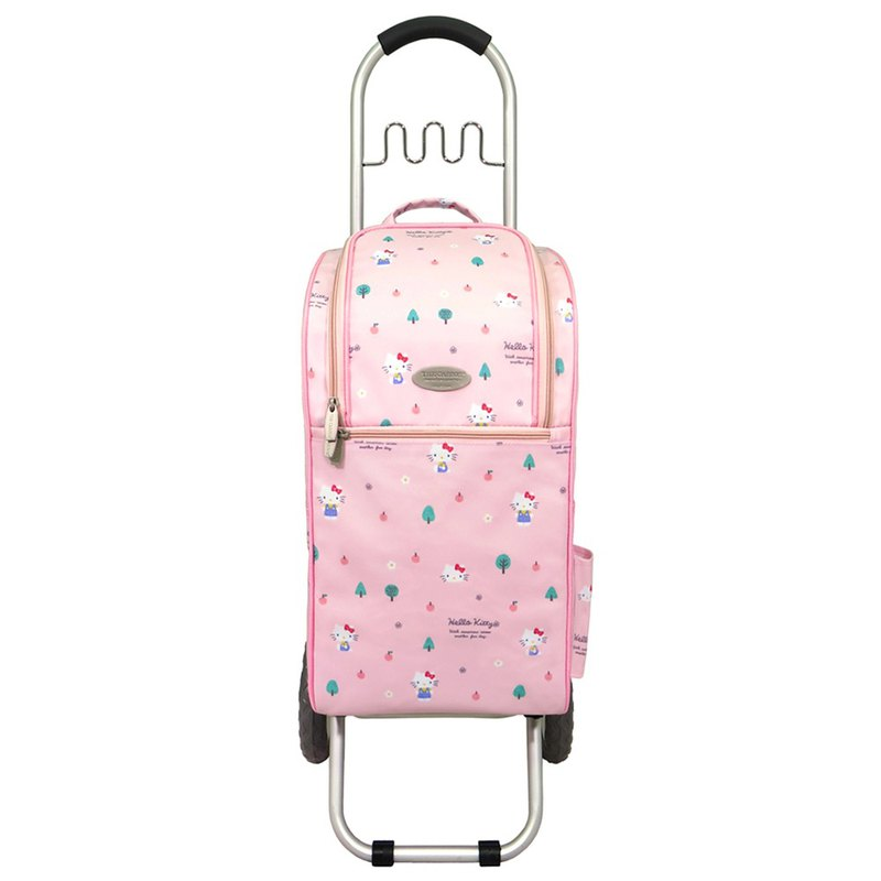 Lightweight fashion shopping cart -25L wave hook - Hello Kitty