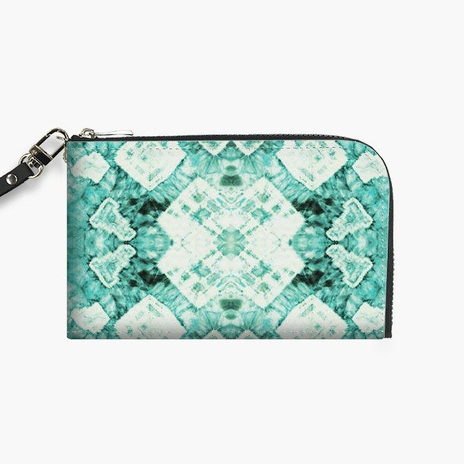 Snupped Isotope - Phone Pouch - Minted Tie-Dye