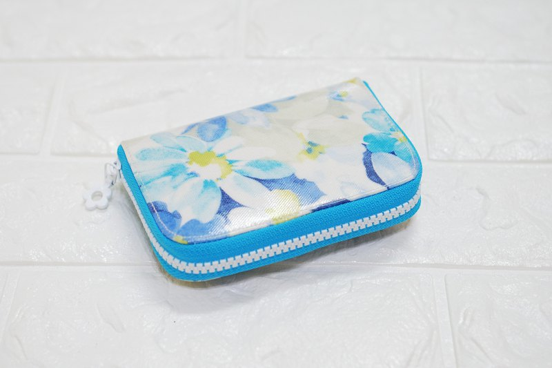 Play cloth hand made. Spend Japanese coin change separate clip tarpaulin short clip wallet purse purse