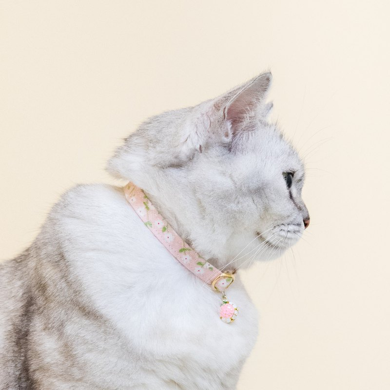 Pet Comfort Safety Collar Safety Buckle Collar (Cat Collar / Dog Collar) - Nordic Apricot