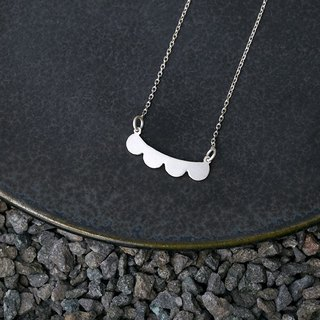 Misstache N.4 Miss Beard No. 4 Sterling Silver Necklace 925 Silver Necklace