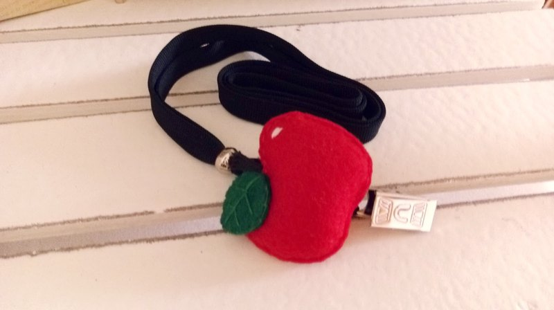 Non-woven lanyard documents ~ ~ Little Apple Series