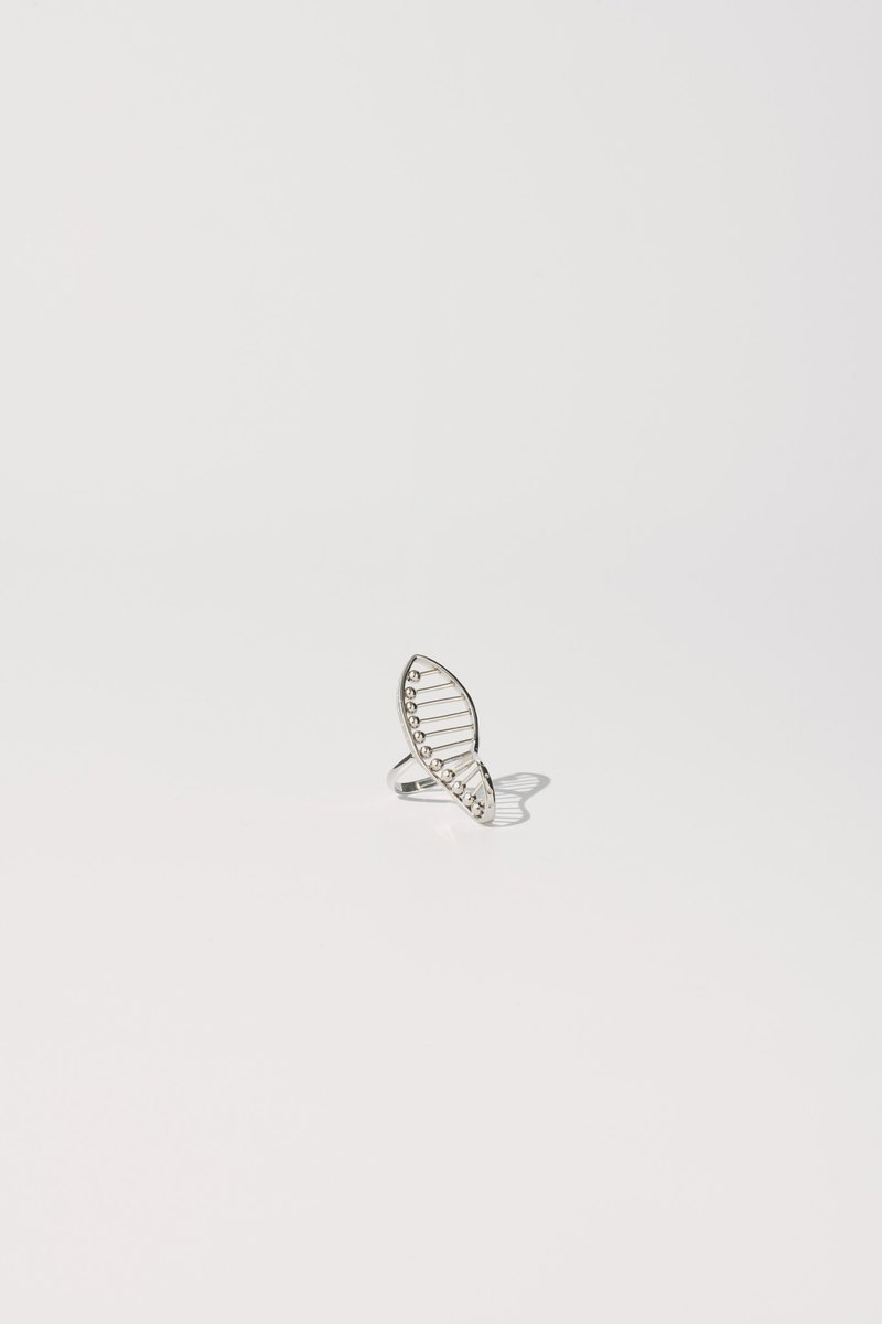 DNA Ring (Silver)