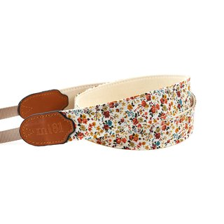 mi81 Neck Strap Orange flower