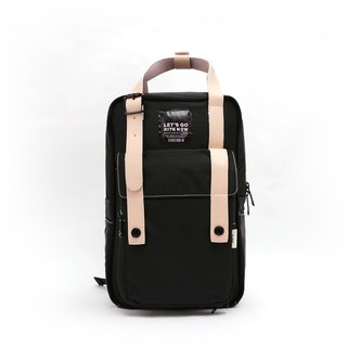 [Twin Series - Pink Limited Edition] 2018 Advanced Edition - Roaming Backpack (Medium) - Pink x Black