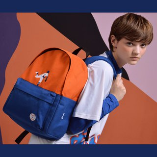 YIZISTORE Genuine Our Juvenile Peripheral Derivatives Shoulder Bag Student Bag Casual Backpack - Orange