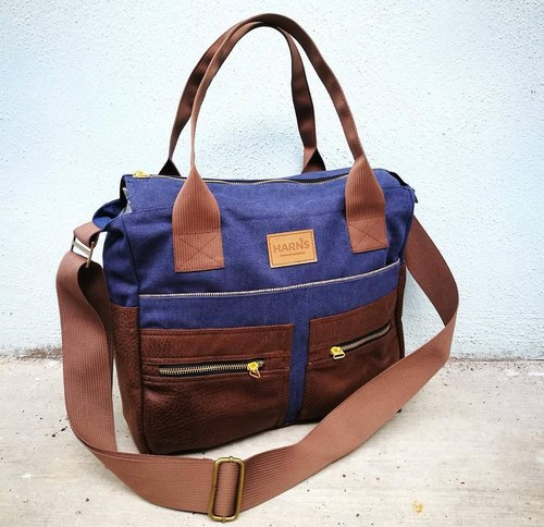 HARNS: full hand shoulder bag / oblique shoulder bag