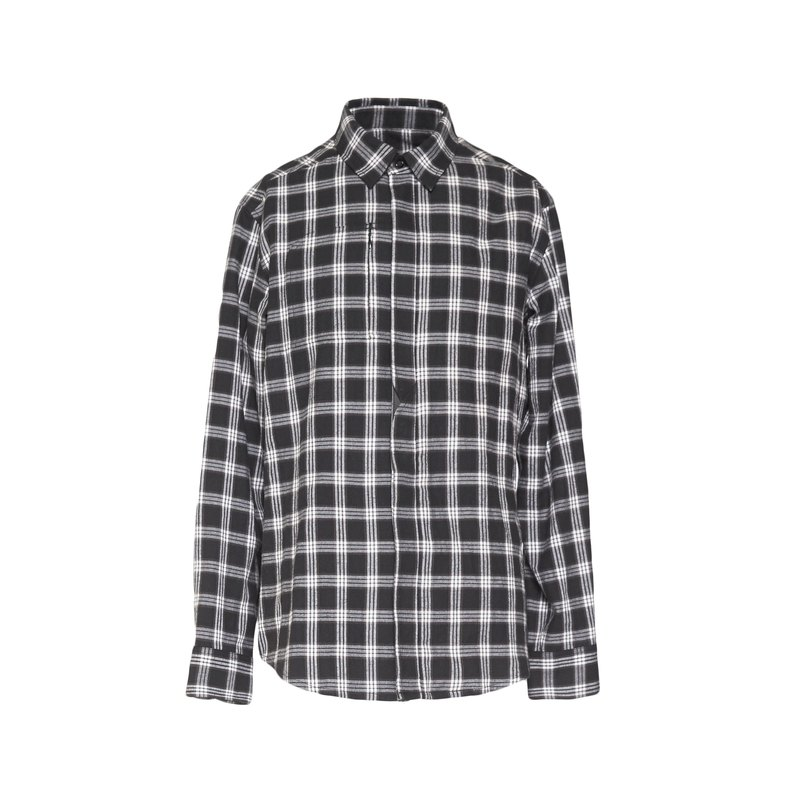 oqLiq - Display in the lost - Wavy placket shirt (Haig)
