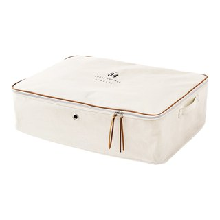 Basic Number- Oversized storage bag (rice white)