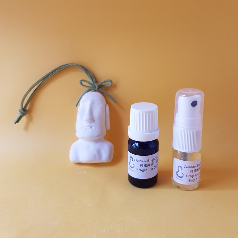 Moai Fragrance Set Moai Diffuser Portable Fragrance Clothing Fragrance