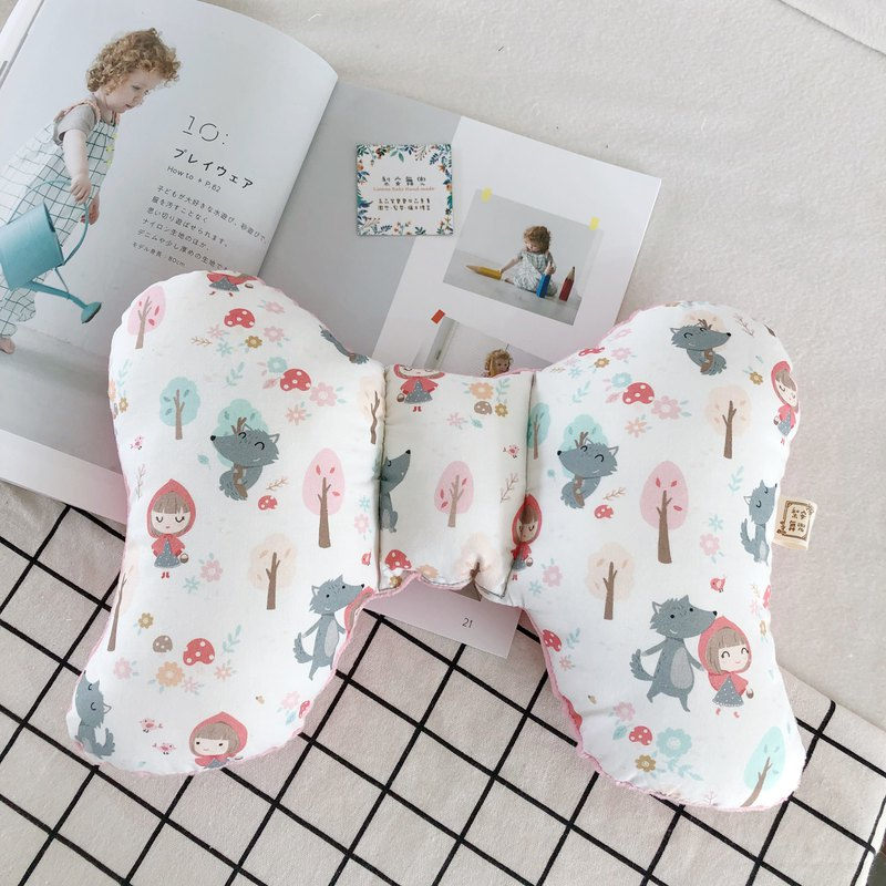 Little Red Riding Hood Big Wild Wolf Handmade Baby Soothing Bean Curd Butterfly Pillow Miyue Gift Box
