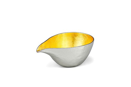 Pure gold gold foil mouth cup (L)