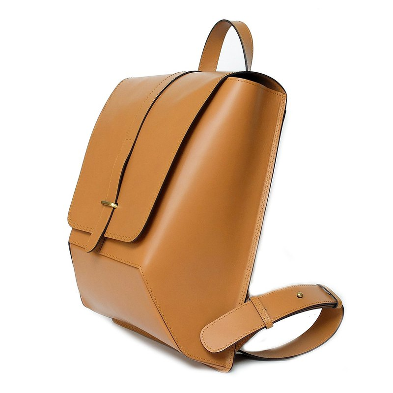 THE IRON BACKPACK Genuine Leather Oil Classic