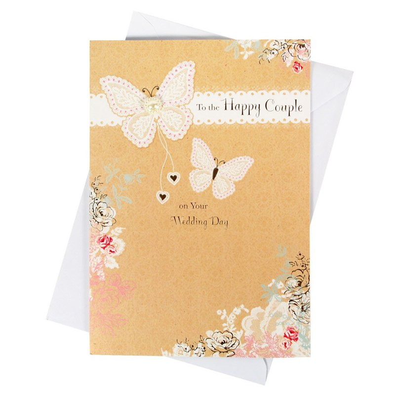 Have a happy life every day [Hallmark-Card Wedding Hershey]