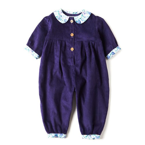 UK handmade - WHAT MOTHER MADE - Purple jumpsuit