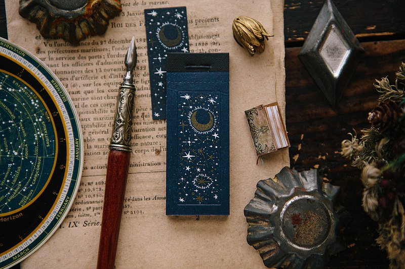 Starry Night Letterpress Book