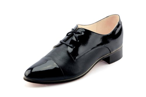T FOR KENT|NOT OXFORD  derby (Black Patent)