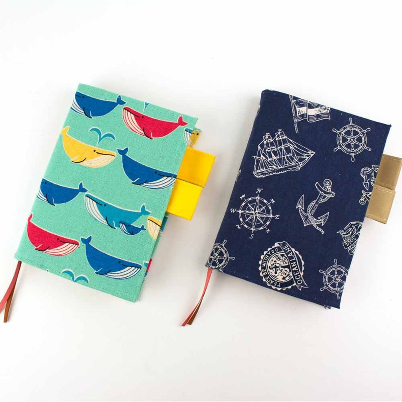 Officially sold A6/50K double pen insert book / book cover / book cover - flower cloth
