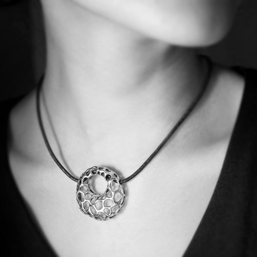 oOoOo[Necklace][Silver]