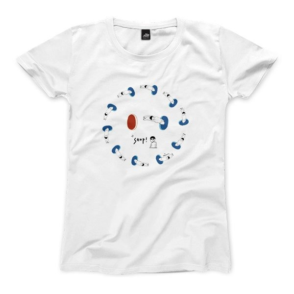 Surrounded in the alley - White - Women's T-Shirt