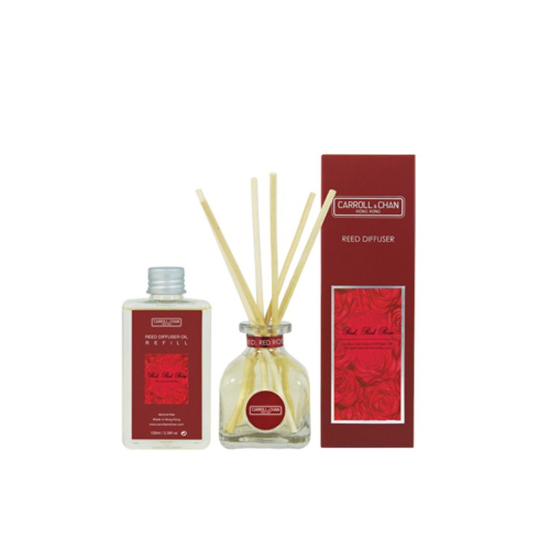 100ml Red Red Rose Reed Diffuser