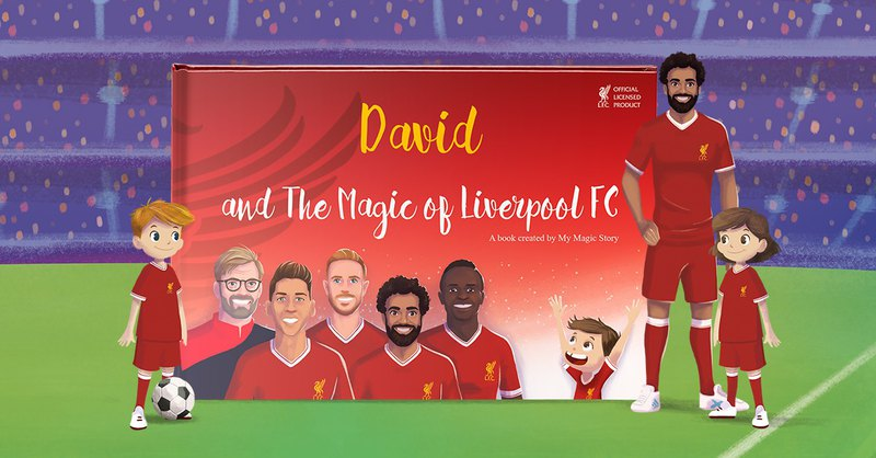 The Magic of Liverpool FC - Official Licensed - Personalized Book/ Gift for Kids