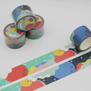 Glutton Monster Washi masking tape (30mm x 10m paper tape)