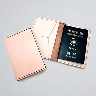 Leather Passport Cover / Passport Holder (16 colors / engraving service)
