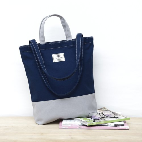 2way-tote - navy blue