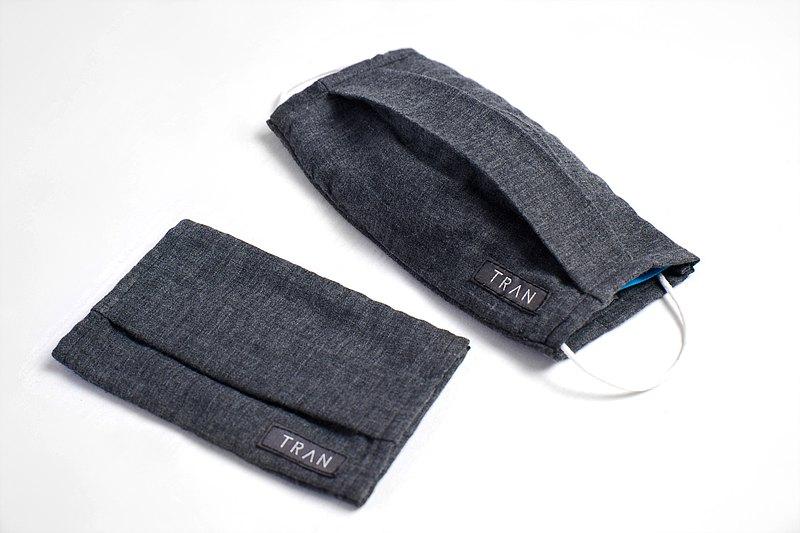 二重紗織棉質口罩套 台灣製 保暖 純棉雙面用 海外可寄 兒童