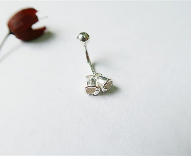 Bells・Belly ring Sterling Silver【SZBR1730】