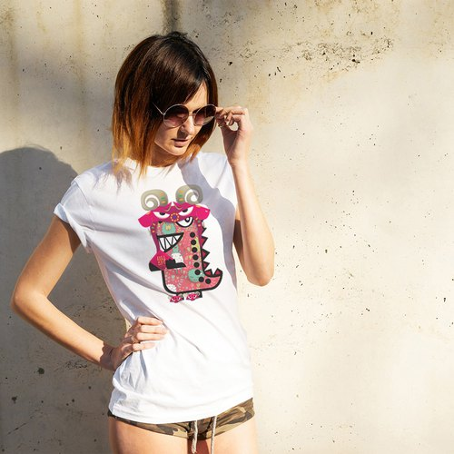Rawr the Tee-Rex and the Chinese Zodiac Tees - Goat