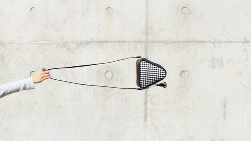 Grid | Triangle | Cross Body / Clutch | Hand-weave Pattern