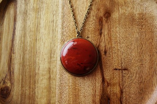 BEYOND OUR SOLAR SYSTEM- Mars Long Necklace