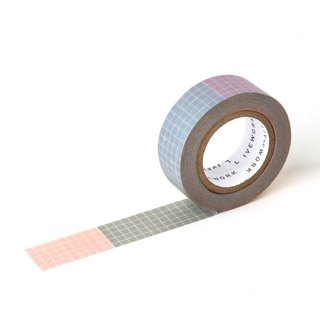 Livework Rainbow Functional Paper Tape - Square Satin, LWK55255