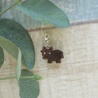 Wooden Charm Series Cow Charm Gifts Customized