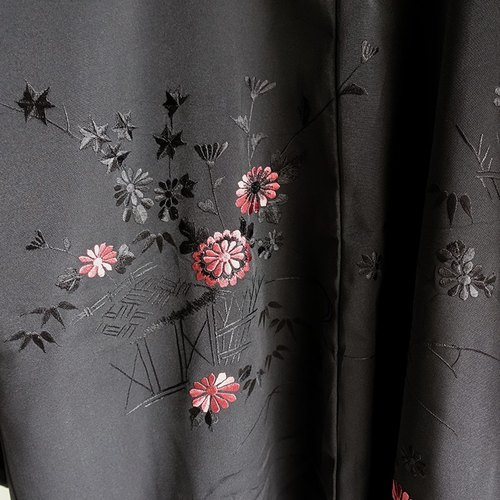 │Slowly│ Japanese Antiques - Light kimono coat M10│ .vintage retro vintage theatrical...