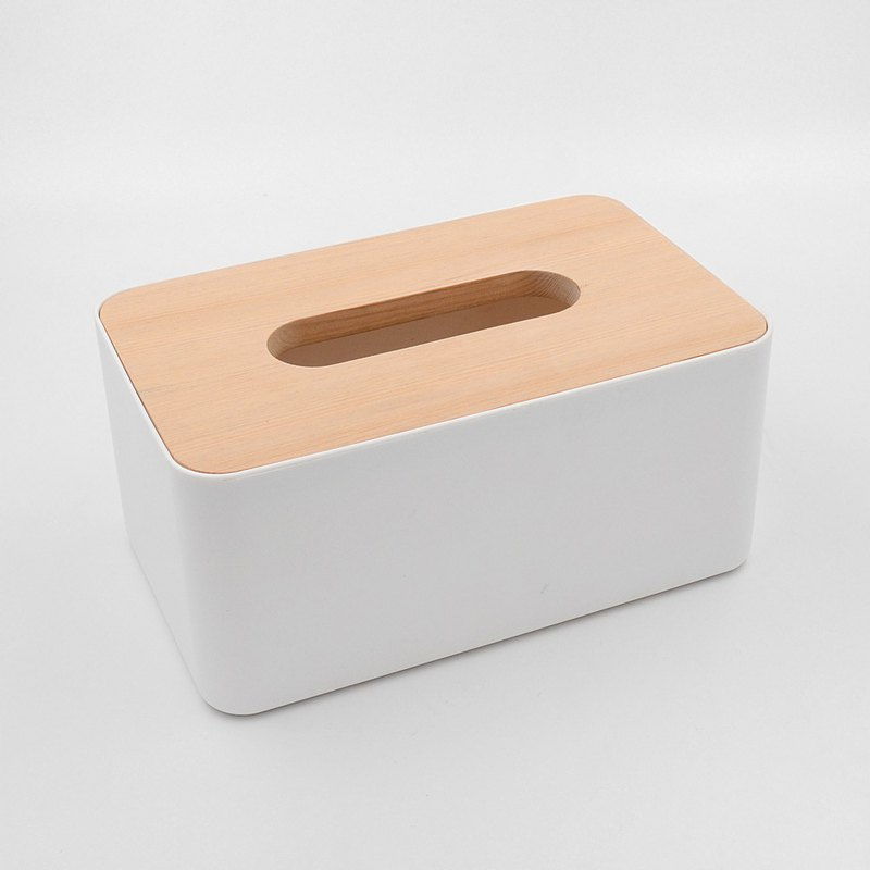 New product trial sale | Taiwan Elm cover type carton, solid wood Nordic toilet paper bag storage box
