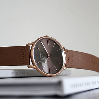THIN 5010 Minimalist Slim Watch - Brown