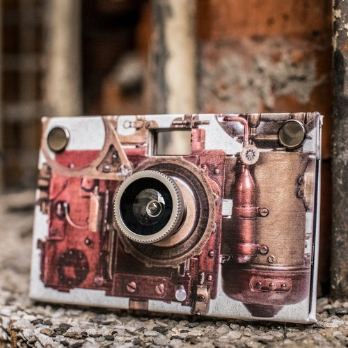 Paper Shoot paper camera,《steampunk 》series - The Golden Bough