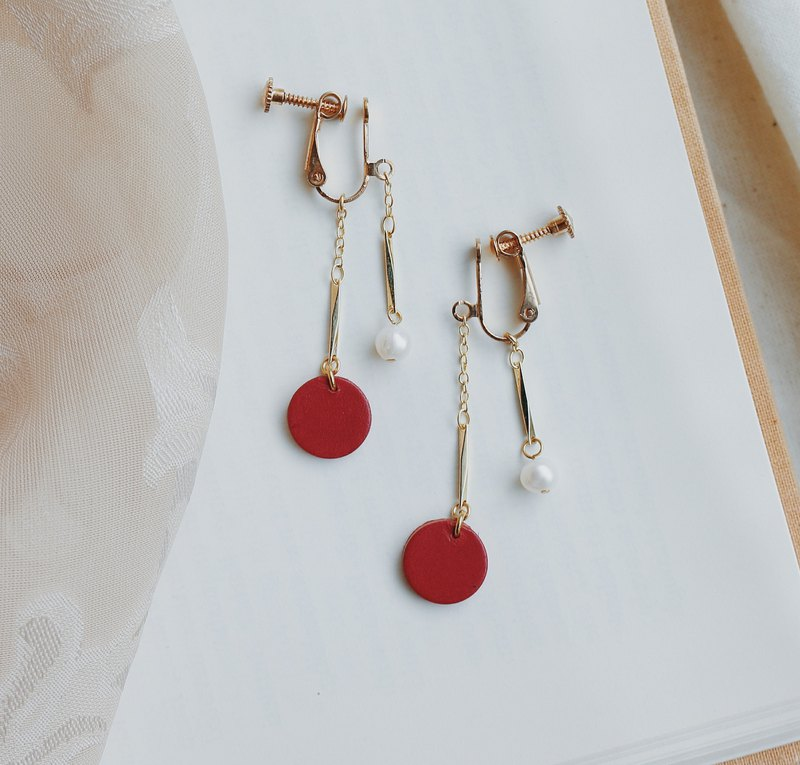 Perfect Imperfection Earrings - Ear Pin Ear Clips