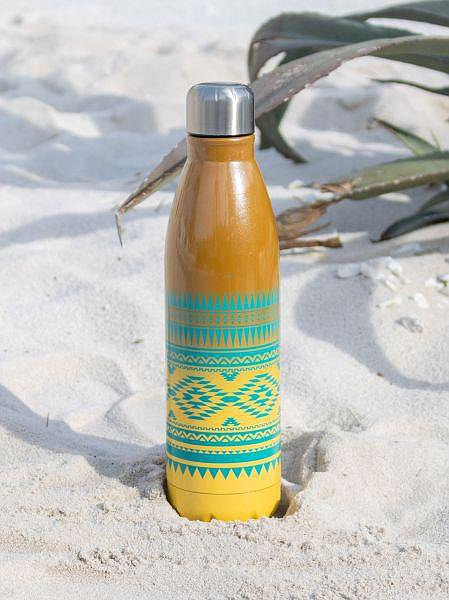 Ethnic Pattern Gradient Stainless Steel Bottle