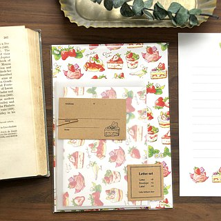 Letterset StrawberryCakes