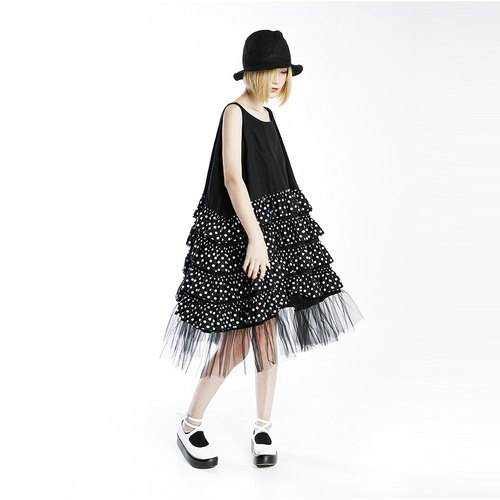 Little black lace dress cake Dress - imakokoni