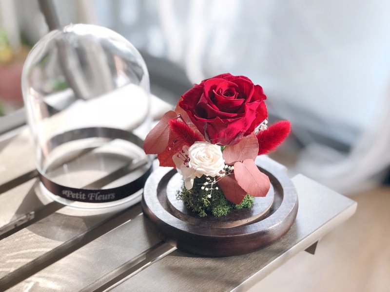 Preserved Flower decoration/gifts/Valentine's Day/birthday/red rose