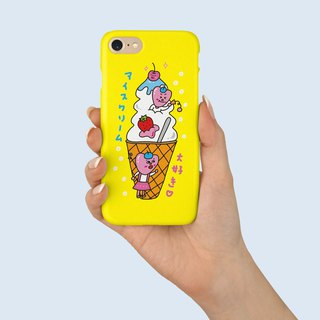 "Phone Case ""Sweet Ice Cream"" design by  白日夢少女 A055CC002"