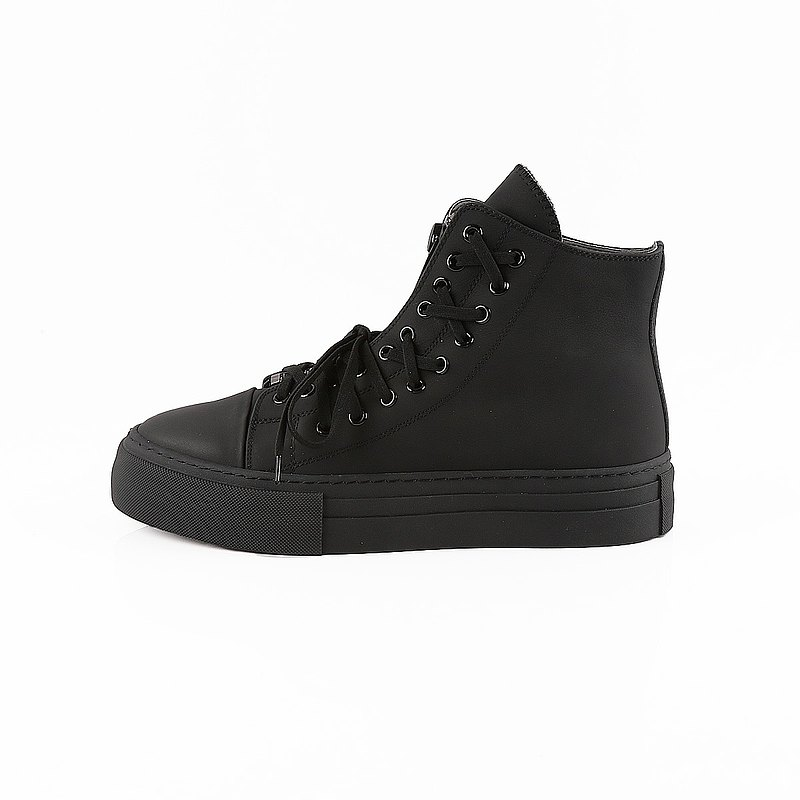 Modeling strappy zipper high top shoes 30030010