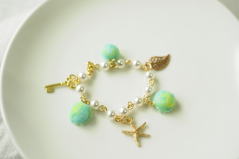 Sweet Dream ☆ ☆ taste of summer sea ice skate bracelet / starfish / summer / birthday gift